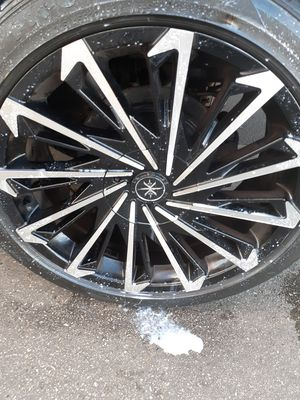 20 inch Rims 5 lug Universal $$700.00 for Sale in Brookfield, IL
