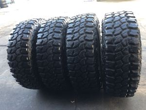 285/75R16 Off road tires M/T (4 for $500) for Sale in Santa Fe Springs, CA