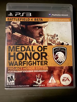 Medal Of Honor Warfighter for PS3 for Sale in National City, CA