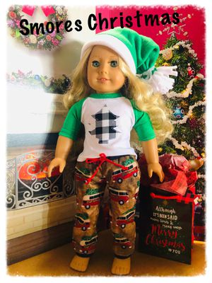 American Girl Smores Christmas Pjs for Sale in Stigler, OK