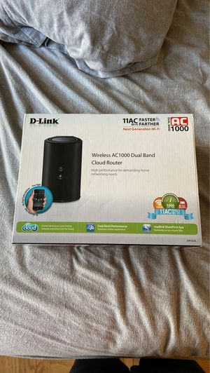 Wireless AC1000 Dual Band Cloud Router for Sale in Washington, DC