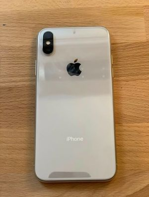 Silver iPhone X 256 GB Unlocked carrier for Sale in Lexington, KY