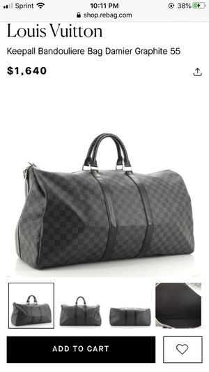 Louis Vuitton Keepall Bag for Sale in Germantown, MD