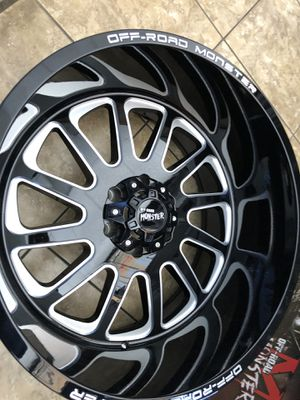 22x12 6x139.7 with 33x12.50 MT tires $2299.00 for Sale in Las Vegas, NV