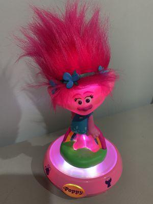 Trolls poppy night light stand for Sale in El Monte, CA