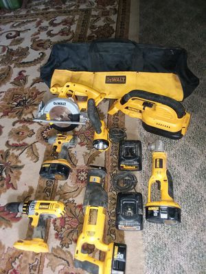 Dewalt 18v XRP Heavy Duty cordless 8 piece tool combo kit for Sale in KNG OF PRUSSA, PA