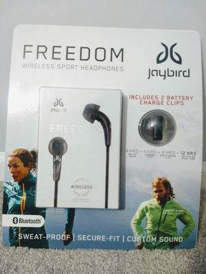 Freedom Wireless Sport Headphones-Carbon for Sale in Glendale Heights, IL