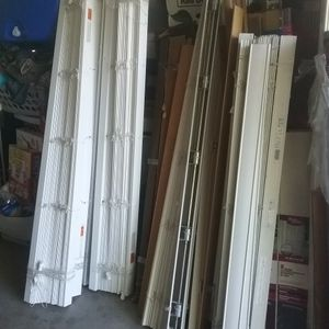 2 In White Faux Wood Window Blinds Up To 70 In Wide for Sale in Gilbert, AZ