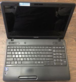 Toshiba satellite laptop with Windows 10 speakers ac for Sale in Orlando, FL
