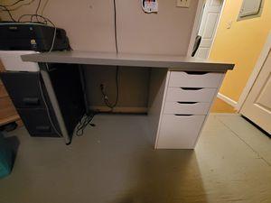 IKEA 2 piece desk set! Moving sale for Sale in Spartanburg, SC
