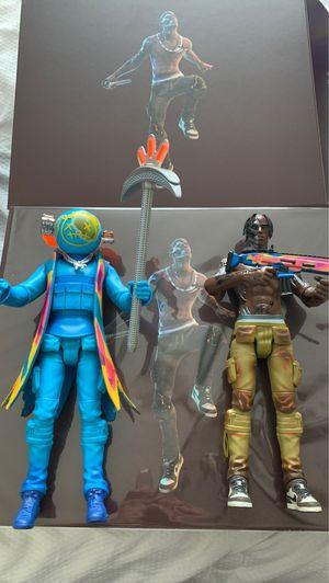 Travis Scott x Fortnite Action Figure. for Sale in Tampa, FL