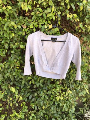 Small grey cardigan for Sale in Riverside, CA