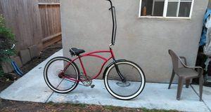 "Schwinn mens bike 26"" trade for 144 spoke fan wheels and tires and fenders for Sale in Modesto, CA"