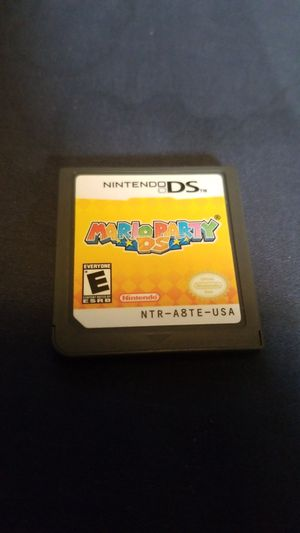 Mario party for Nintendo ds for Sale in San Diego, CA
