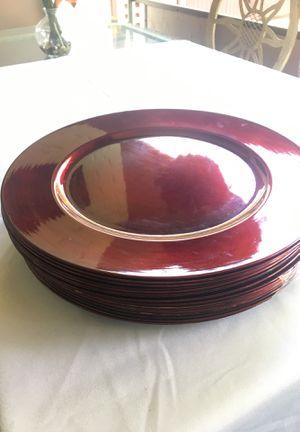 Decorating plates for Sale in Falls Church, VA