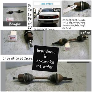 AXLE FROM A 2004 CHEVY IMPALA for Sale in Fresno, CA
