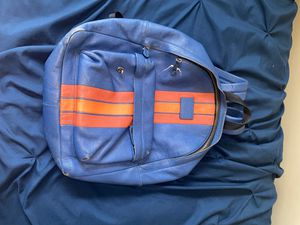 Coach orange blue striped men's backpack CHEAP STEAL for Sale in Orland Park, IL