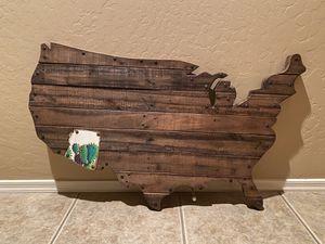 US (Arizona) Wooden Wall Art for Sale in Chandler, AZ