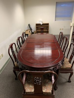 8 seat Dining room table for Sale in NO HUNTINGDON, PA