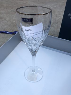 Waterford Crystal - Caprice Platinum Red Wine Goblet for Sale in Wimberley, TX