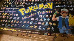 Pokemon Master Trainer boardgame COMPLETE for Sale in Mesa, AZ