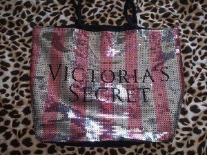 Victoria's Secret sequin brand new large tote bag for Sale in Taunton, MA