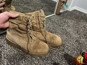 Solid work boots (fits men feet sizes 9-12) for Sale in Puyallup, WA