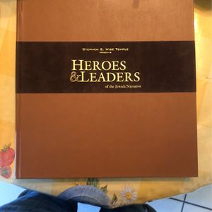Heroes & Leaders Of The Jewish Narrative Book for Sale in Walnut, CA
