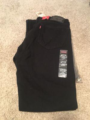 Brand New Black Skinny Levi Jeans for Sale in Alexandria, VA