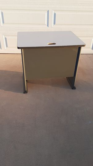 "Very nice solid office desk. Approx. L 35"" X W 27"" H 30"" for Sale in Sun City, AZ"