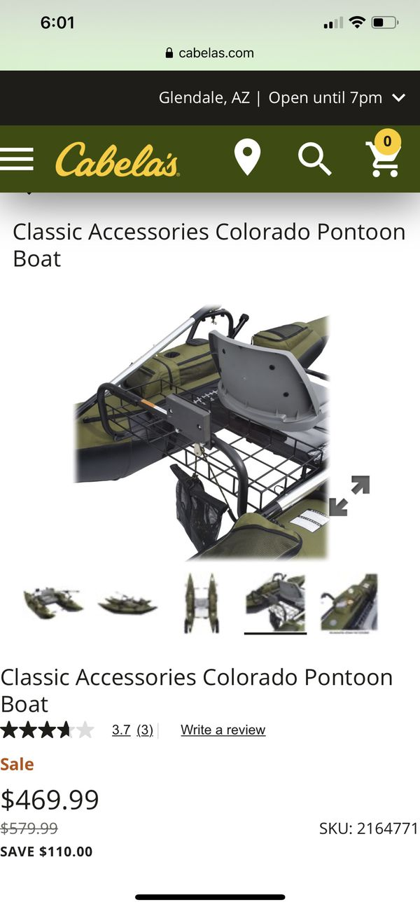 Pontoon float boat