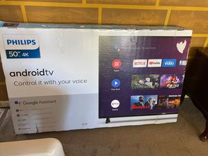 Philips 50 inch 4K Android tv for Sale in Orland Park, IL