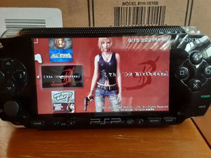Sony PSP fat 1000 mod nes SNES gba ps1 arcade 100's of games 64 gb 150 for Sale in Puyallup, WA