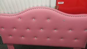 Pink pleather head board for Sale in Vancouver, WA