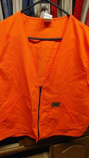 Duxbak Orange Hunting Vest for Sale in Lombard, IL