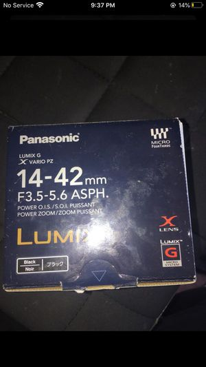 LUMIX LENS for Sale in Garden Grove, CA