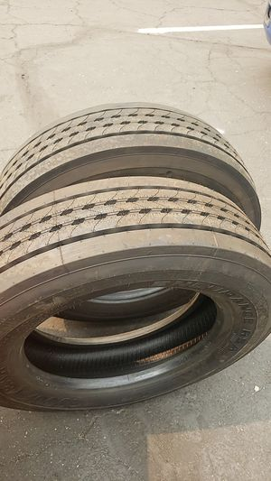 Trailer tires 255/70/22,5 for Sale in Elk Grove, CA