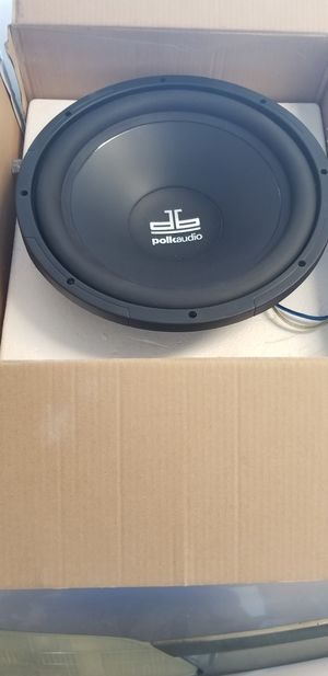 12in Polk audio Subwoofer for Sale in Lake Elsinore, CA