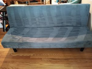 Gray futon for Sale in Golden, CO