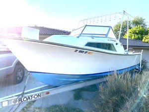 24' aquasport ocean boat turn key ready to get fish! 22,000 OBO for Sale in Norco, CA