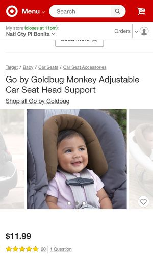 infant car seat head support for Sale in Chula Vista, CA