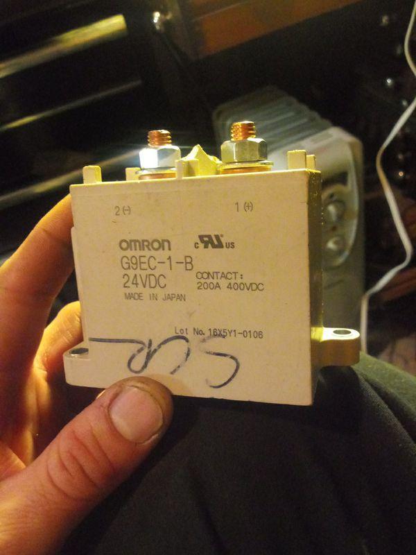 Omron - G9EC-1 DC24 Power Relay