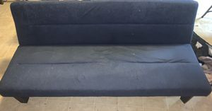 Black Folding Futon/Couch for Sale in Tampa, FL