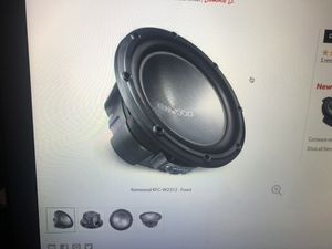 Kenwood sub for Sale in Los Angeles, CA