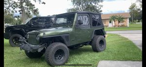 2005 Jeep Wrangler TJ 4.0 6 speed for Sale in St. Cloud, FL