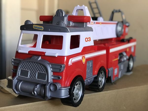 Paw patrol - Sea patroller - Sub patroller and Ultimate rescue fire truck All three