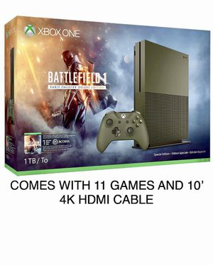 XBOX ONE S BATTLEFIELD 1 EDITION 1TB for Sale in Celina, TX
