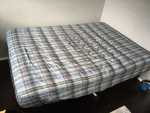Full size mattress , bed frame, sheets and pillows. for Sale in Bellevue, WA