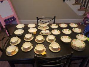 Franciscan desert rose hand painted dinnerware for Sale in Breinigsville, PA