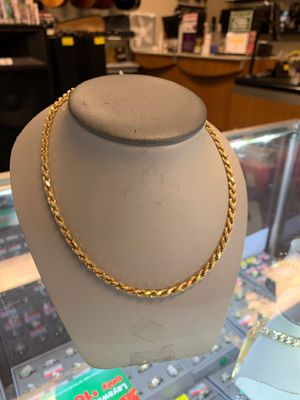 18k solid gold chain for Sale in Chicago, IL